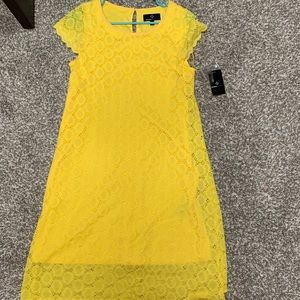 Size 8 yellow dress